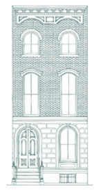 Anglo Italianate Style Townhouse