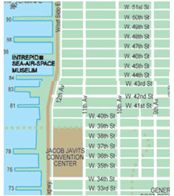 Clinton NYC Map