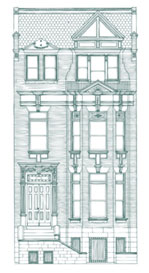 Queen Anne Style Townhouse