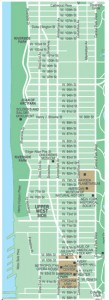 Washington Heights NYC Map