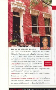 Edie Falco Sells NY Luxury Home